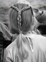 Peinados para las mujeres medievales