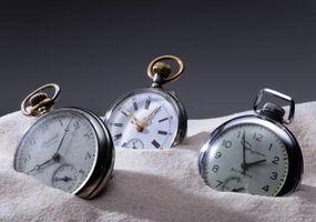 Cómo encontrar el número de serie en un reloj de bolsillo Elgin