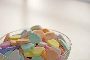 Snacks para niños sanos de San Valentín