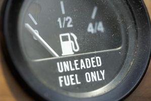 Cómo aumentar el rendimiento de combustible con acetona