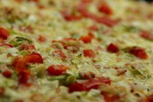 Horneado por convección vs. Hornear durante pizza congelada