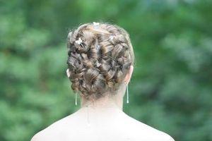Hágalo usted mismo estilo del pelo Prom