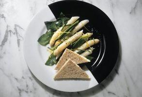 El pan tostado que se utiliza como decoración