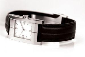 Cómo reparar un Ironman banda de reloj Timex
