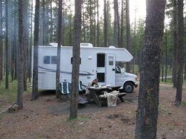 Campamentos boscosas en el área de Orlando