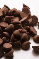 La diferencia entre la semi-dulce de leche y virutas de chocolate