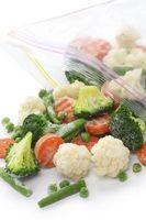 Cómo descongelar verduras congeladas
