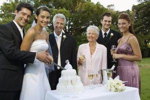Madre no tradicionales de los vestidos de la novia