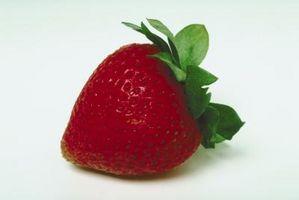 ¿Cuáles son las manchas en una fresa?