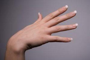Cómo franceses Tip uñas