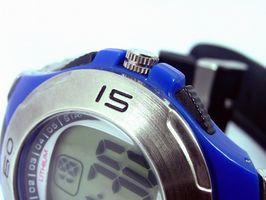 Cómo establecer una Casio G-Shock
