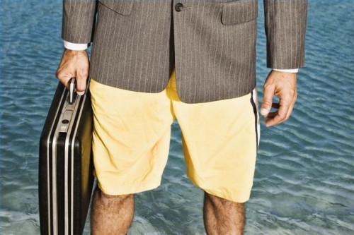 Cómo usar pantalones cortos de primavera a la Oficina