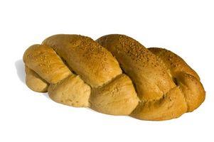 Cómo trenza de pasta de pan