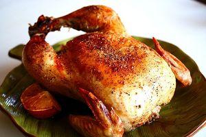 Cómo mantener pollo asado jugoso