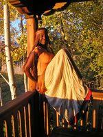 Cómo hacer ropa para los hippies