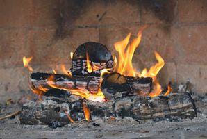 DIY ladrillo Hornos de fuego