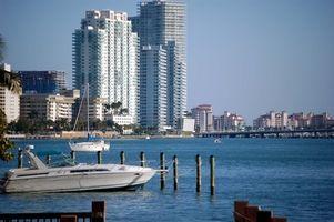 Hoteles frente al mar y Suites en Miami, Florida