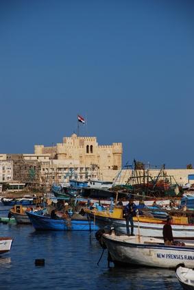 Sitios famosos en Alejandría, Egipto