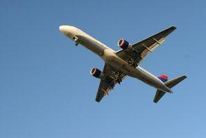 Las diferentes partes de un avión y sus propósitos