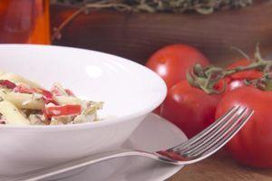 Lo que puede hacer con las pastas Penne, queso mozzarella y salsa?