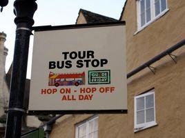 Bus turístico en Monterey, California