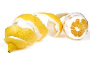 Los sustitutos para las cáscaras de limón