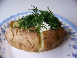 ¿Cómo saber cuánto tiempo cocer al horno una patata