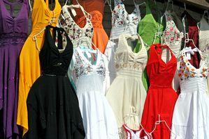 Desventajas de los vestidos de algodón Terry