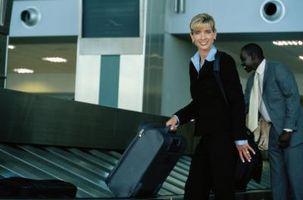 Cómo establecer una combinación para cerraduras de equipaje