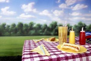 Las ideas de picnic para una multitud