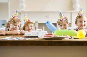 Las ideas de alimentos para la fiesta de un niño