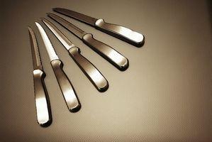 Cómo aprender habilidades con el cuchillo