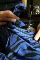 Cómo utilizar una máquina de coser para hacer una camisa grande