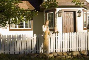 Cómo adjuntar un patio trasero para los perros