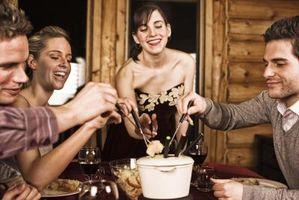 Tipos de fondue de queso