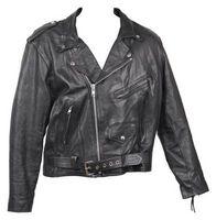 Como condición de chaquetas de cuero