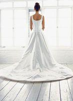 Cómo hacer un Bullicio para un vestido de novia