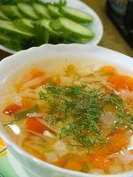 Especias sopa de verduras