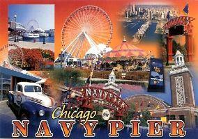 Cómo visitar el Navy Pier de Chicago, IL