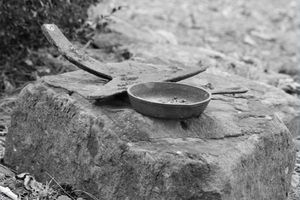 Cómo reparar roto hierro fundido Sartenes