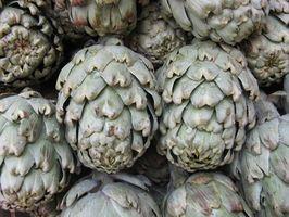 Cómo asar una alcachofa