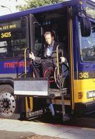 Las opciones para las personas con discapacidad en el transporte