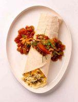 Cómo hacer un queso Cheddar Burrito