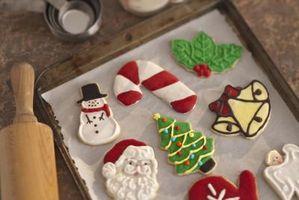 Cómo hacer hielo real para las galletas de azúcar