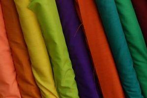 Las instrucciones para una falda con gradas