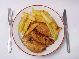 Cómo cocinar el pollo frito Concursos