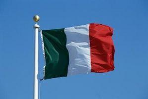 ¿Cuáles son algunos italiana Artes y manualidades?
