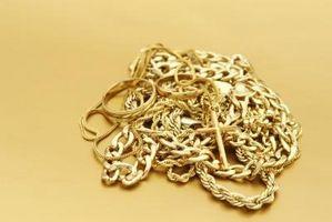 Cómo realizar la prueba para ver si es oro verdadero o falso