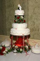 Cómo decorar tortas con gradas