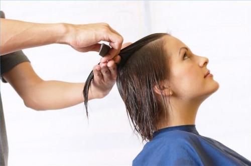 Cómo cortar el pelo con una forma geométrica